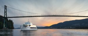 event boat rental vancouver - yacht charter Westin Bayshore