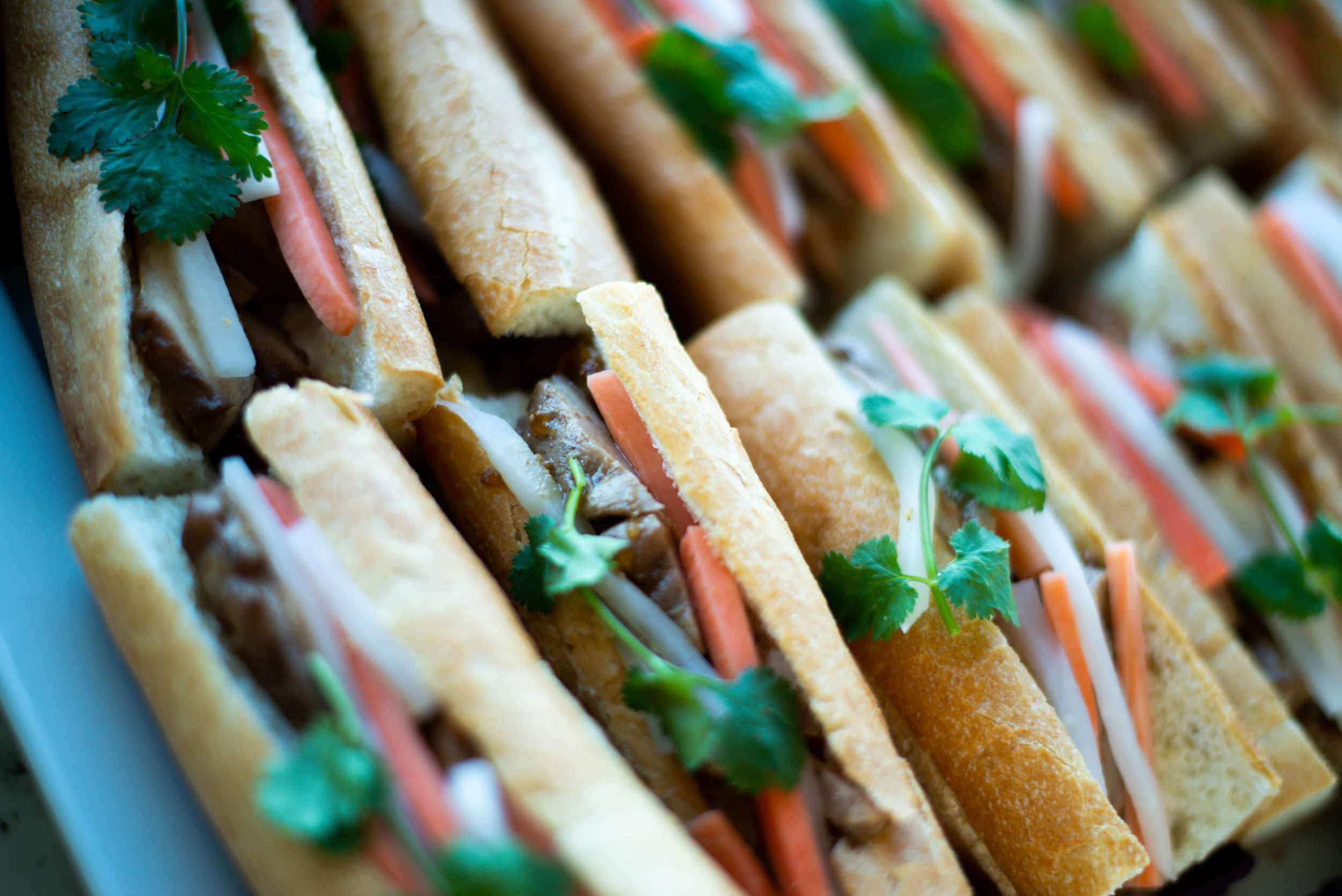 corporate event catering vancouver - lunch / luncheons for small and large parties